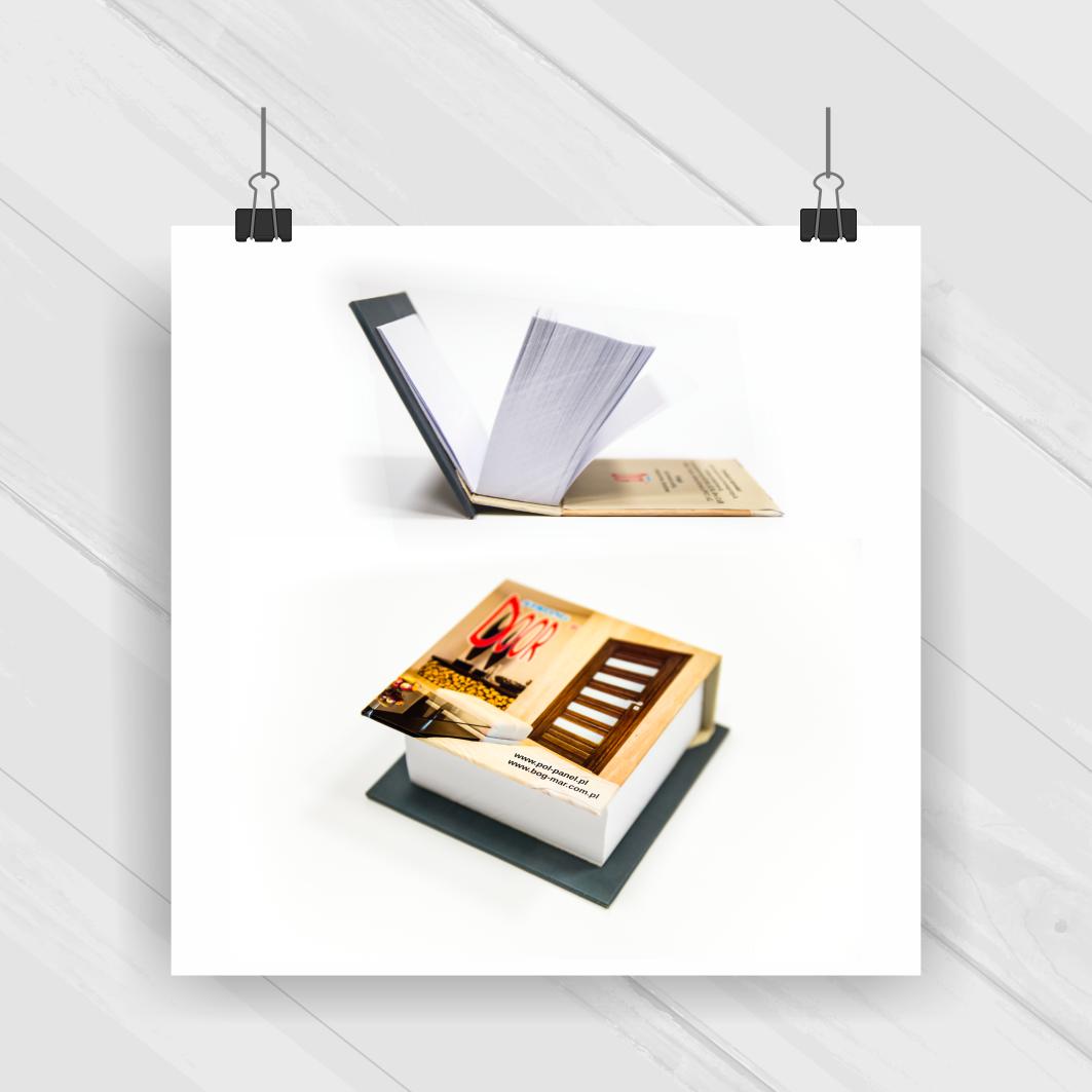 Projekt & Druk - boksik/notes reklamowy
