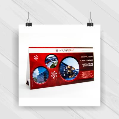 Projekt & Druk - kalendarz biurkowy