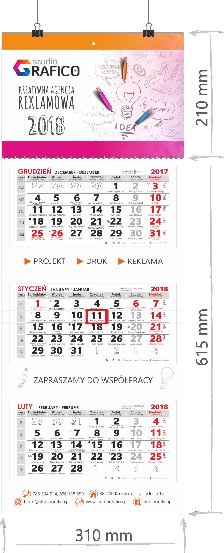 Kalendarze 2019